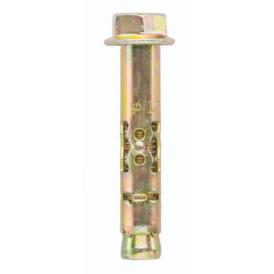 Rawlplug Sleeve Anchor Projecting Bolt - M10 - 75 x 15 x 21mm - Pack 25