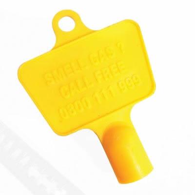 Gas Meter Key - Plastic