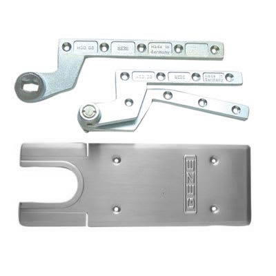 GEZE TS500NV Accessory Pack - Single Action - Satin Stainless Steel