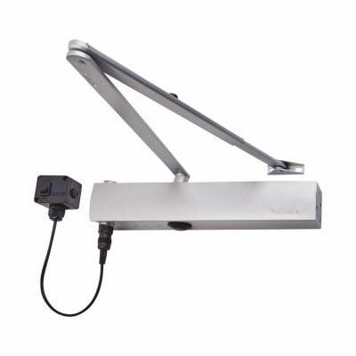 GEZE TS4000E Electromagnetic Door Closer - Silver