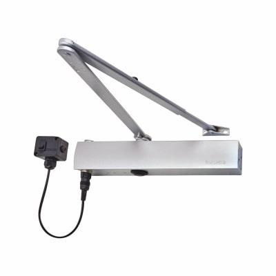 GEZE TS4000EFS Electromagnetic Door Closer - Silver