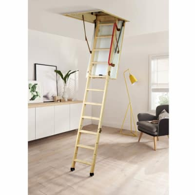 Youngman Timber Eco S Line Loft Ladder