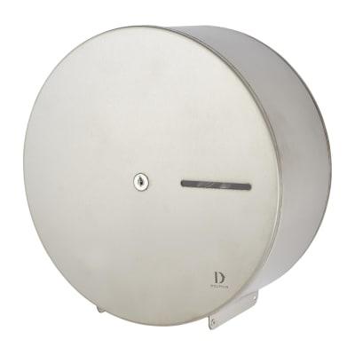 Dolphin Mini Toilet Roll Dispenser - 273 x 120mm - Satin Stainless Steel