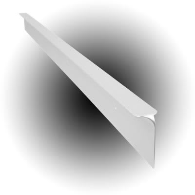 Worktop Corner Joint - 30 x 630mm - White