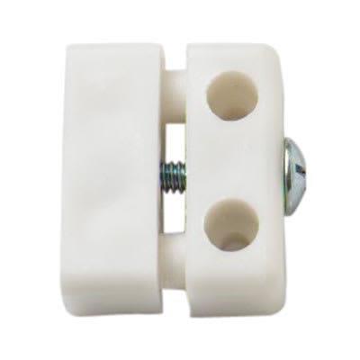 Modesty Blocks 2 Part - White - Pack 50