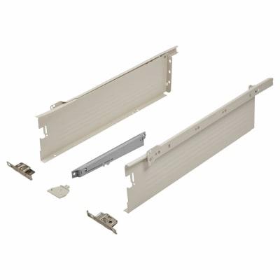 Blum METABOX BLUMOTION Soft Close Drawer Pack - Single Extension - 118mm (H) x 500mm (D) - 30kg