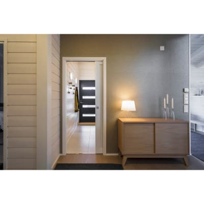 Eclisse Single Pocket Door Kit - 125mm Finished Wall - 626 x 2040mm Door Size