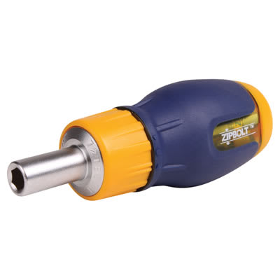 Zipbolt Ratchet Driver - 110mm Stubby