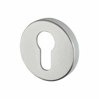 Altro Plus Escutcheon - Euro - Satin Aluminium