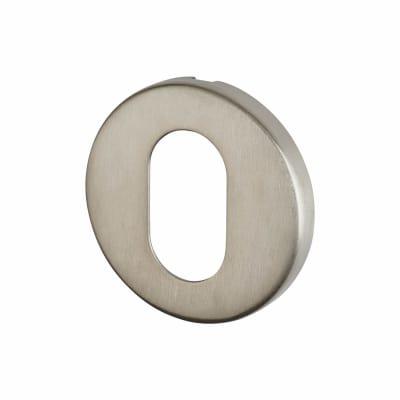 Altro Escutcheon - Oval - Satin Stainless Steel