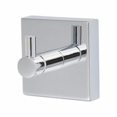 Croydex Chester Single Coat Hook - 54mm - Polished Chrome