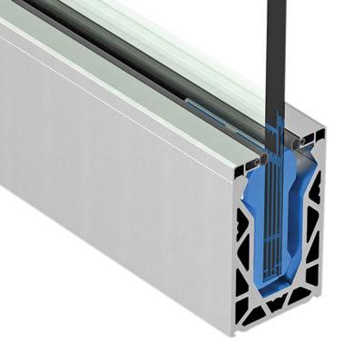 Posiglaze Glass Balustrade System Base Channel 3 Metre Kit Suit