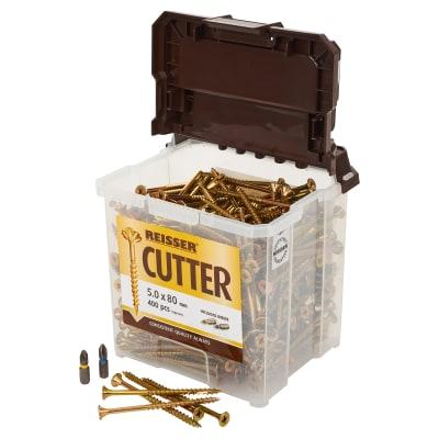 Reisser Cutter Tub - 5 x 80mm - Pack 400