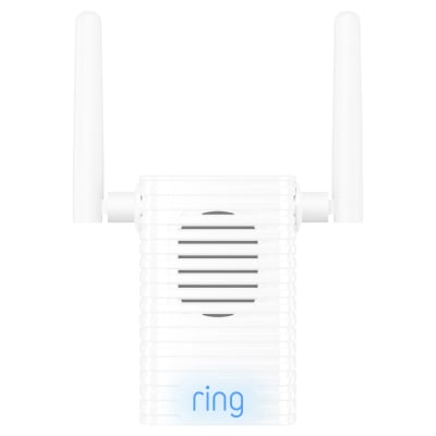 Ring Pro Wireless Chime with Wi-Fi Extender - White