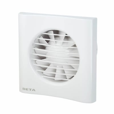 Deta 4601 4 Inch Axial Extractor Fan with Timer