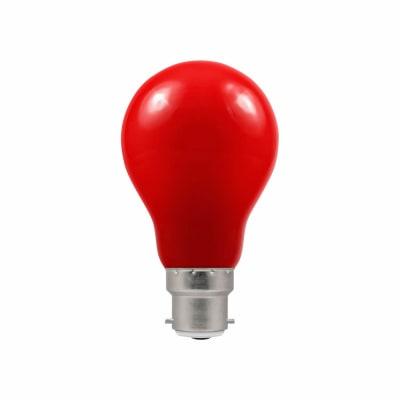 Crompton 1.5W LED GLS Coloured Lamp - B22 - Red