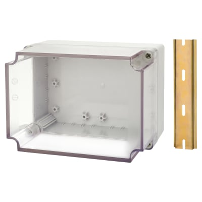 Hylec DN Junction Box - 125 x 175 x 125mm - Transparent Lid