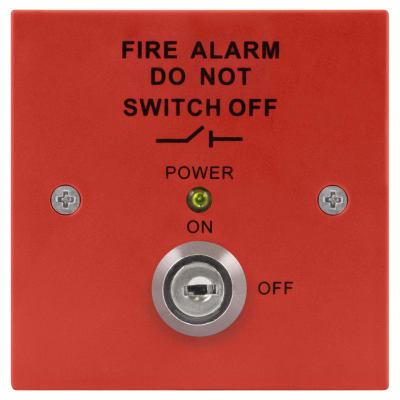 ESP Fire Panel Isolator Switch - Red