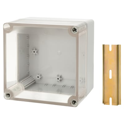 Hylec DN Junction Box - 125 x 125 x 75mm - Transparent Lid