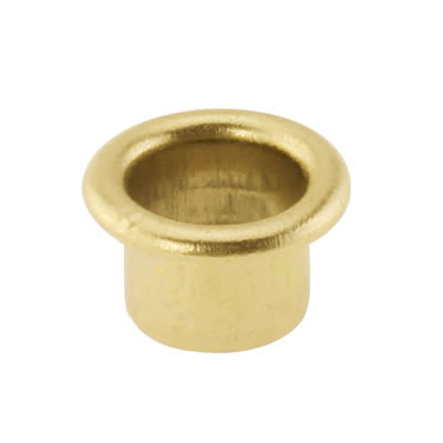 Shelf Support Socket - Brass Plated - Pack 50