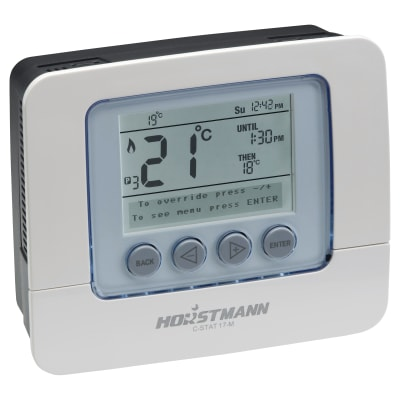 Horstmann C-Stat 17-M 7 Day Mains Op Prog Room Therm