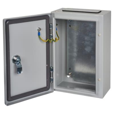 Hylec Galvanised Enclosure - 400 x 300 x 220mm - IP66
