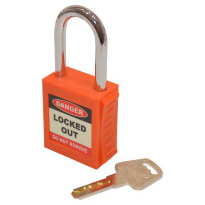 Spectrum Safety Lockout Padlock - Orange