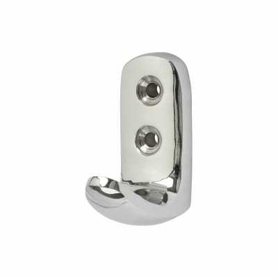 Heavy Duty Single Coat Hook - 45mm - Polished Chrome