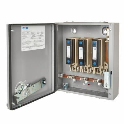 Eaton MEM 63A 415V TPN 3 Phase Fuse Switch Disconnector