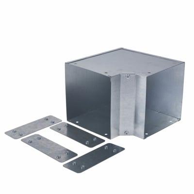 Internal Bend - 90° - 150 x 150mm - Galvanised