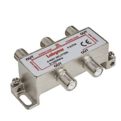 4W Satellite Splitter - 3 Way