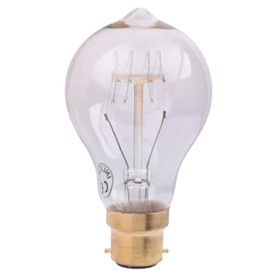 Forum InLight 40W Vintage Style A60 Filament Lamp - B22 - Clear