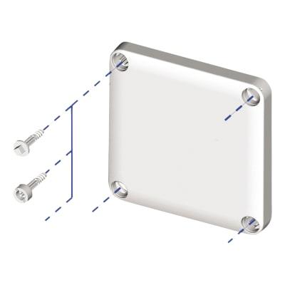 Schneider Thalassa Triangular Head Screws - 6.5mm - Pack 4