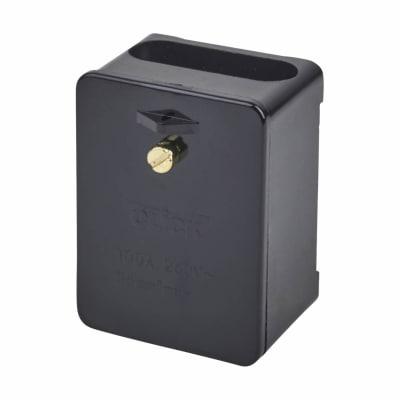 Click Scolmore 100A Single Pole Connector Block - Black