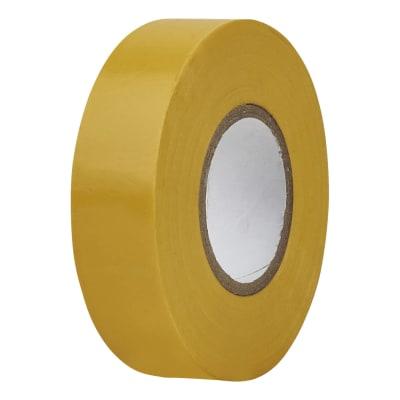Directa 19mm Roll PVC Tape 20m - Yellow