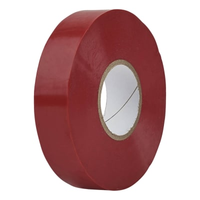 Directa 19mm Roll PVC Tape - 20m - Red