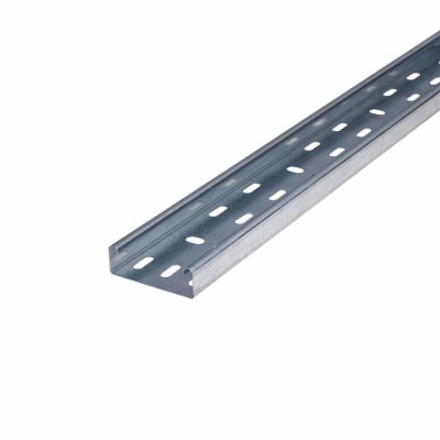 Medium Duty Cable Tray - 75 x 3000mm - Galvanised