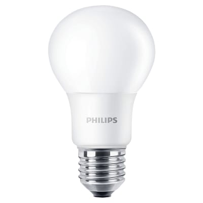 Philips CorePro 7.5W LED E27 Non-Dimmable Frosted Lamp 4000K - Cool White