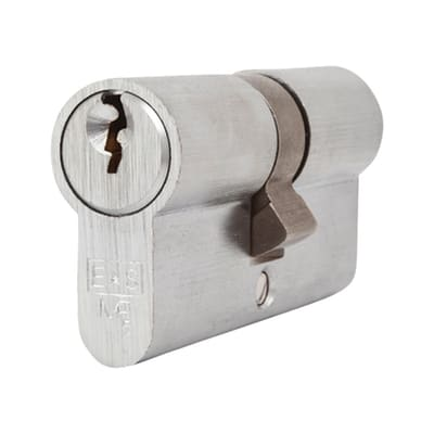 Eurospec Euro Double Cylinder - 5 Pin - 30 + 30mm - Satin Chrome - Keyed Alike
