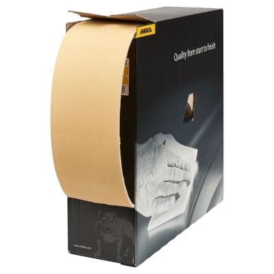 Mirka Goldflex Soft Sanding Roll - 115mm x 200 Pads - Grit P280