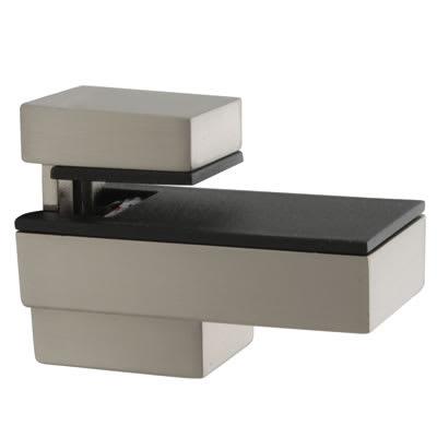 Altro Decorative Shelf Support Bracket - 6-12mm Shelf Thickness - Brushed Chrome