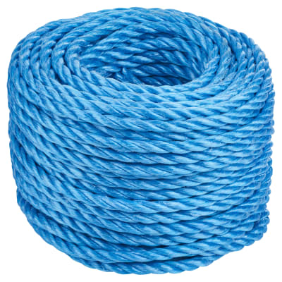 Polypropylene Rope - 8mm - 30m Length - Blue