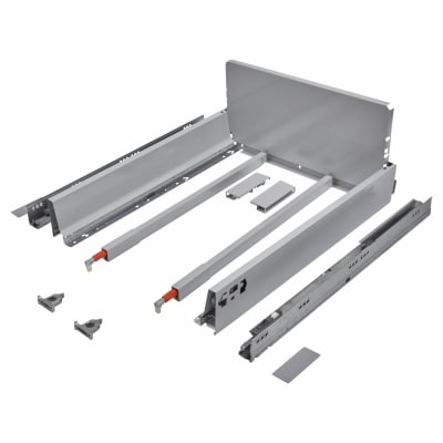 Blum TANDEMBOX ANTARO Pan Drawer - BLUMOTION Soft Close - (H) 203mm x (D) 500mm x (W) 400mm - Grey