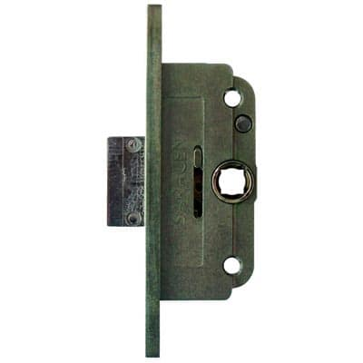 Olde Forge Espagnolette Deadlock - uPVC/Timber - 22mm Backset