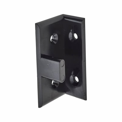 Keku AD30 -  Double Partition Fitting - Black - Pack 10