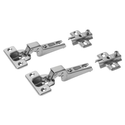 Motion Slide-On Cabinet Hinge - 95° - Soft Close - Dual