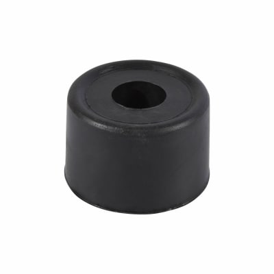 PVC Floor Door Stop - 33mm - Black - Pack 10