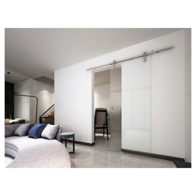 VetroGlide Glass Sliding Door Kit - Right Hand