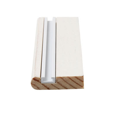 Timber Parting Bead - 8 x 25mm - Pack 10 x 3000mm - Primed White