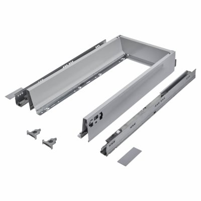Blum TANDEMBOX ANTARO Drawer Pack - BLUMOTION Soft Close - (H) 84mm x (D) 500mm x (W) 400mm - Grey
